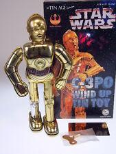 "GSR ROBOT, GSCOM  ""STAR WARS C-3PO""  OSAKA TIN TOY, 25cm, NEU/NEW/NEUFn BOX  !"