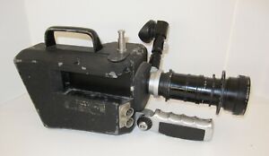 CINEMA PRODUCTS CP 16 16MM MOVIE CAMERA w/ ANGENIEUX 12-120mm f2.2 ZOOM LENS