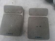 BMW Sound System OEM E23 E28 E30 Tan Premium Rear Speaker w/ Tweeter Only