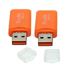 Kartenleser Micro SD Card Reader Adapter USB 2.0 MicroSD SDHC TF T-Flash 2 PCs