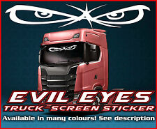 Camión Camión Etiqueta engomada del parabrisas Mal Ojos Vidrio ventana de cabina ambiente MAN DAF Scania