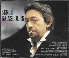 COFFRET 2 CD 36T SERGE GAINSBOURG BEST OF 1988 ETAT NEUF POLYGRAM DISTRIBUTION