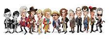Tom Richmond SIGNED Doctor Who Mad Art Print #392/500 Tom Baker David Tennant