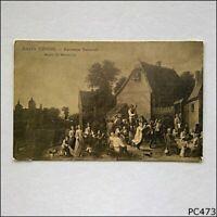 David Teniers Kermesse flamande Musee de Bruxelles Postcard (P473)