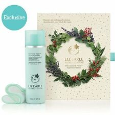 Liz Earle Cleanse And Polish Hot Cloth Cleanser Pump & 2 Muslin Cloths 150ml
