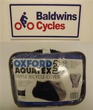 Oxford AQUATEX IMPERMEABILE TRIPLO 3 bici biciletta ciclo SCOOTER ANTIPIOGGIA-CC102