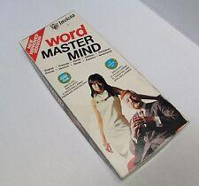 Vtg Word Master Mind INVICTA Game New Intact Game Year Award Break Hidden Code