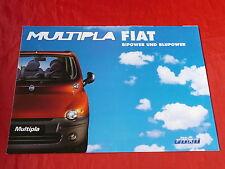 FIAT MULTIPLA BIPOWER + BLUPOWER prospetto di 2001