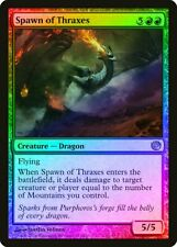 Spawn of Thraxes FOIL Journey into Nyx HEAVILY PLD Red Rare MAGIC CARD ABUGames