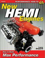 Hemi Engines 5.7 6.1 6.2 6.4 2003-2017 How To Build Max Performance Book Manual