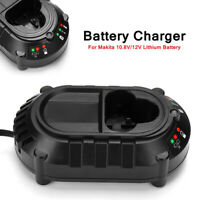 Li-ion battery Charger Lithium for Makita BL1013 BL1014 10.8V-12V DC10WA Tool