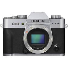 Original Fujifilm X-T20 Silver Camera Body Only US New On Sales US SHIP