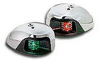 Attwood 3550-1 Led Sidelights 2 Nmile Red/Green 8917