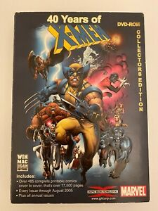 40 Years of X-Men DVD-Rom Collectors Edition for Mac or PC