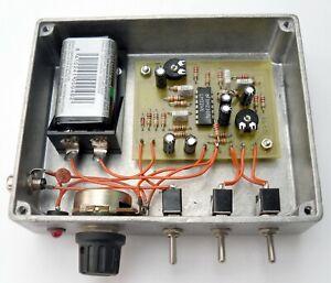 Two Tone Oscillator for SSB Transmitter alignment, built. Made in Dorset UK.