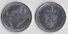 C00952 Vaticano 100 LIRE 1970 Paulus VI, top di mantenimento