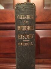 RARE 1859 Catechism United States History, Charleston, South Carolina, bookplate