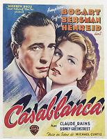 Home Wall Art Print - Vintage Movie Film Poster - CASABLANCA 3 - A4,A3,A2