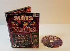 New ListingIgt Slots: Miss Red Pc Cd-Rom 2013 Windows Mac casino slot machine game
