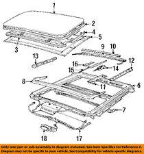 BMW OEM 93-97 850Ci Sunroof-Slide Left 54121940965
