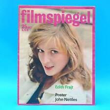 DDR Filmspiegel 25/1987 John Nettles Ralph Richardson Edith Frajt Erika Ozsda B