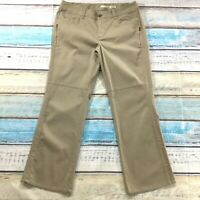 "DKNY Jeans Womens Pants size 18 new Tan Slim Bootcut x32"" inseam Cotton Stretch"