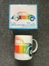 Officially licensed Volkswagen Beetle striped China mug
