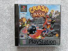 Sony Play Station 1-Crash Bash (authentische Sony Silber versiegelt)