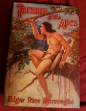 Edgar Rice Burroughs Tarzan of the Apes 1914 Grosset & Dunlap Hardcover with DJ
