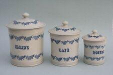 3 Vorratsgefässe, Frankreich, 19.Jahrhundert