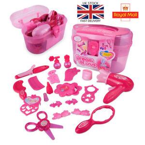 Girl Makeup Set Play House Simulation Beauty Hairdressing Children Toys Gift UK