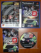 Gun Com Guncom 2 (Death Crimson OX+) PlayStation PS2 PStwo Pal-España ¡COMPLETO!