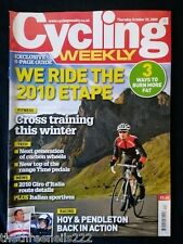 CYCLING WEEKLY - RIDE THE 2010 ETAPE - OCT 29 2009