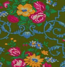 Jennifer Paganelli Sis Boom West Indies Velentina Fabric in Moss JP50