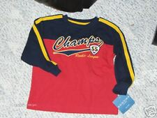 """NWT- Sonoma navy/red long sleeved """"champ"""" shirt - 4"""