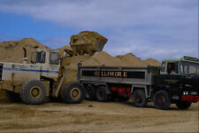 667053 Payloader Loading Sand Into Lorry A4 Photo Print