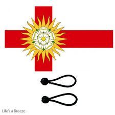 West Riding Of Yorkshire  Flag 5 x 3ft Fly From A Flag Pole.With FREE BALL TIES