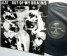"""ILZE Out of my Brains NEAR-MINT vinyl New Wave 12"""" EP Bang Zoom"""