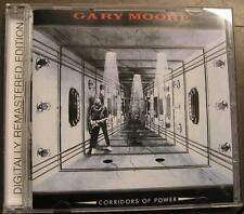 GARY MOORE CORRIDORS OF POWER CD DIGITALLY REMASTERED 3 BONUSTRACKS