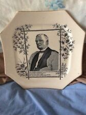 Bishop of Manchester 1885  Octagonal  Plate