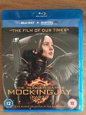 Jennifer Lawrence The Hunger Games - Mocking Jay Part 1 UK Blu-ray