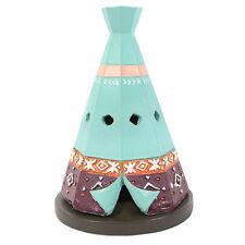 Ceramic Boho Teepee Incense Cone Holder Indian Incense Burner UK Dispatch
