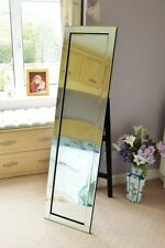 Large Modern Venetian Cheval Standing Mirror 5ft X 1ft3 150 X 40cm
