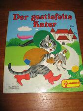 E85) PAPP-KINDERBUCH DER GESTIEFELTE KATER MUHR/GERTI LICHTL PESTALOZZI 1998 RAR