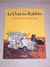 BD / LE CHAT DU RABBIN 5 / JERUSALEM D'AFRIQUE / ED ORIGINALE 12/2006 / TB ETAT