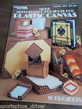 More Needlepoint Projects For Plastic Canvas Leaflet Lesiure Arts #184 - 1980