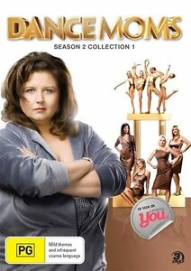 DANCE MOMS Season 2 Collection 1 (DVD,2013) 3 Disc Set - NEW+SEALED
