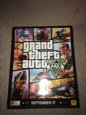 GRAND THEFT AUTO 5 POSTER GTA V FIVE 22x28 Double Sided Franklin Or Blonde Girl