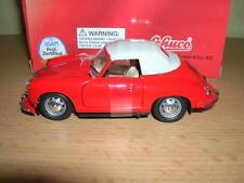 Schuco Junior Line Porsche 356a Cabrio rot red, 1:43