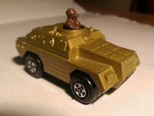 Vintage 1973 Lesney Matchbox Rolamatics #28 Stoat Military Tank